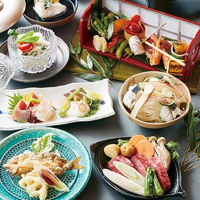 【夕食】夏の奈良会席