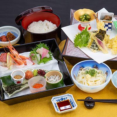【ご昼食】かがりやの海鮮御膳